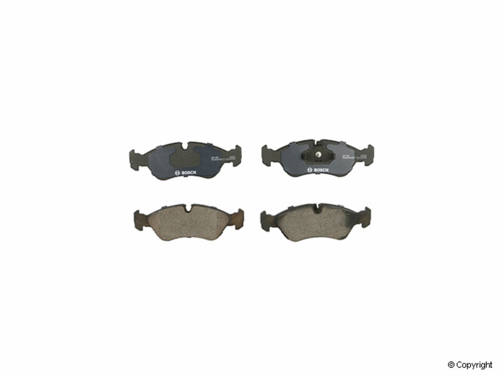 IMC MFG NUMBER CATALOG - Bosch QuietCast Disc Brake Pad Set (Front) - IMM BP796