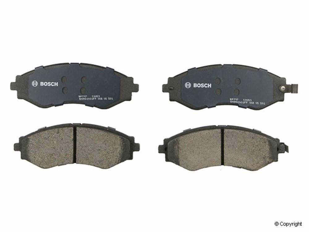 Bosch - Bosch QuietCast Disc Brake Pad Set (Front) - IMM BP797