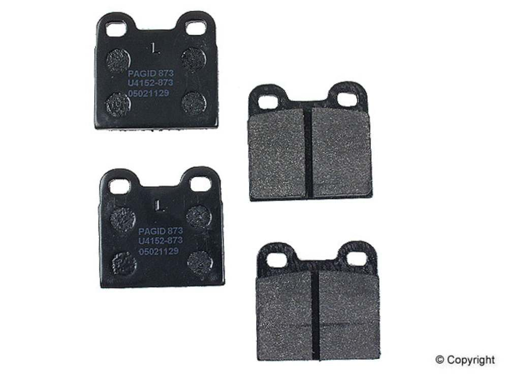 Pagid - Pagid Disc Brake Pad Set (Rear) - IMM 758 T0455