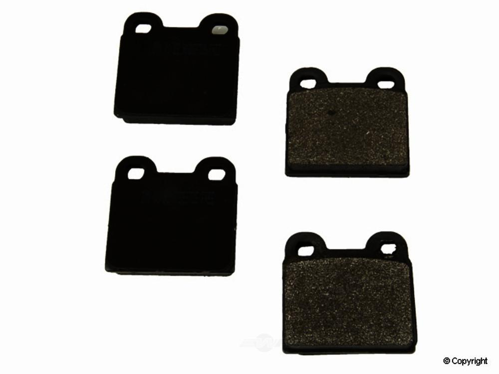 Meyle -  Semi Metallic Disc Brake Pad Set - WDX 520 00301 503