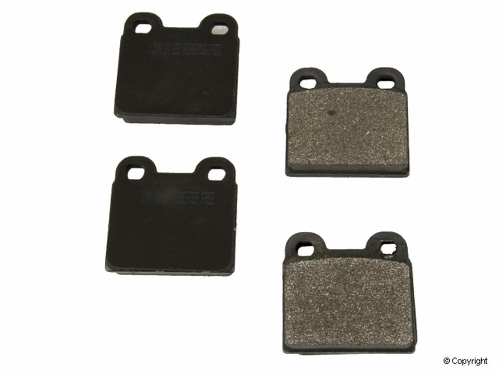 IMC MFG NUMBER CATALOG - Meyle Semi Metallic Disc Brake Pad Set (Rear) - IMM 735 D30 PMQ