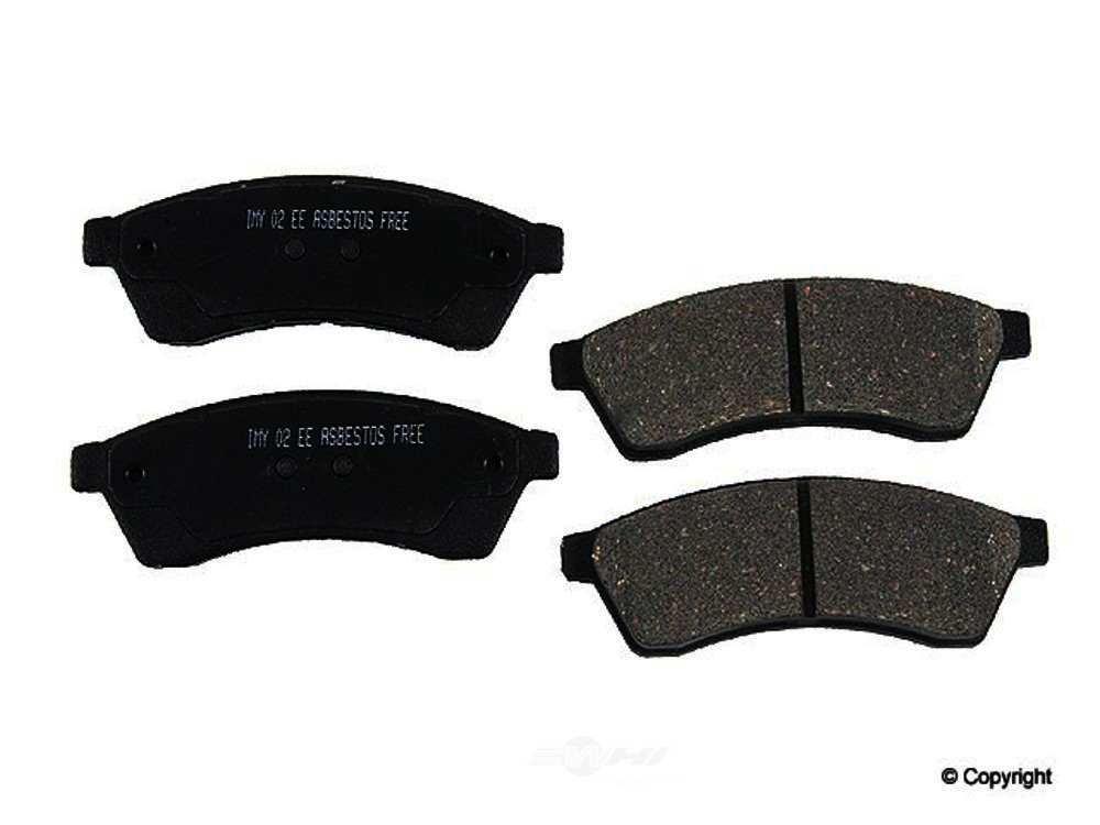 Meyle -  Ceramic Disc Brake Pad Set - WDX 520 10300 504