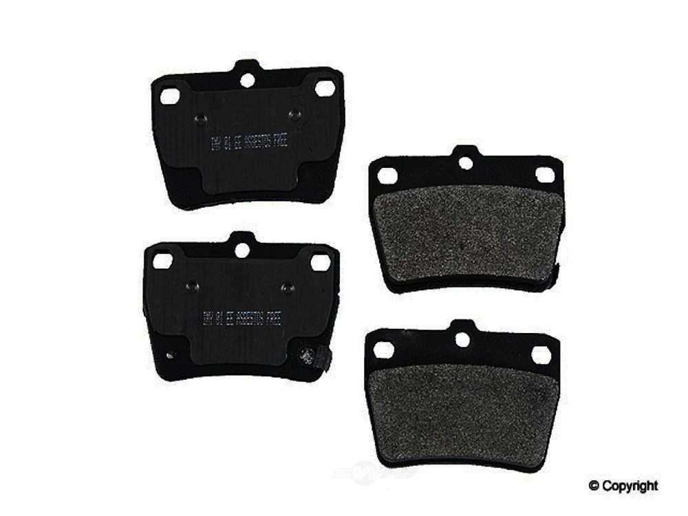 Meyle -  Semi Metallic Disc Brake Pad Set - WDX 520 10510 503
