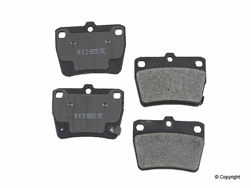 Meyle -  Semi Metallic Disc Brake Pad Set (Rear) - IMM 7955 D1051 PMQ