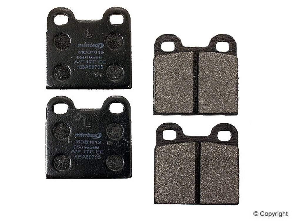 IMC MFG NUMBER CATALOG - Mintex Disc Brake Pad Set (Rear) - IMM MDB1012
