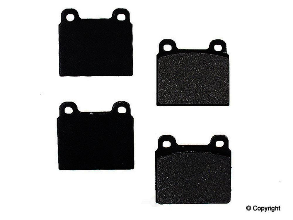 Meyle -  Semi Metallic Disc Brake Pad Set - WDX 520 00450 503