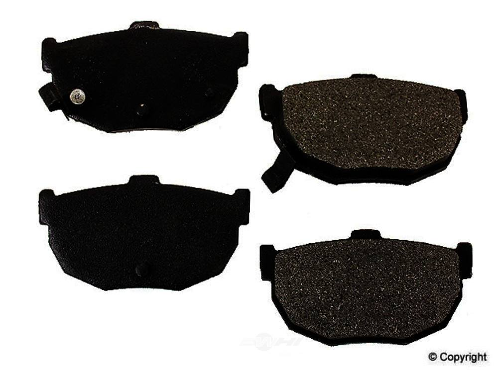 Meyle -  Semi Metallic Disc Brake Pad Set - WDX 520 03230 503