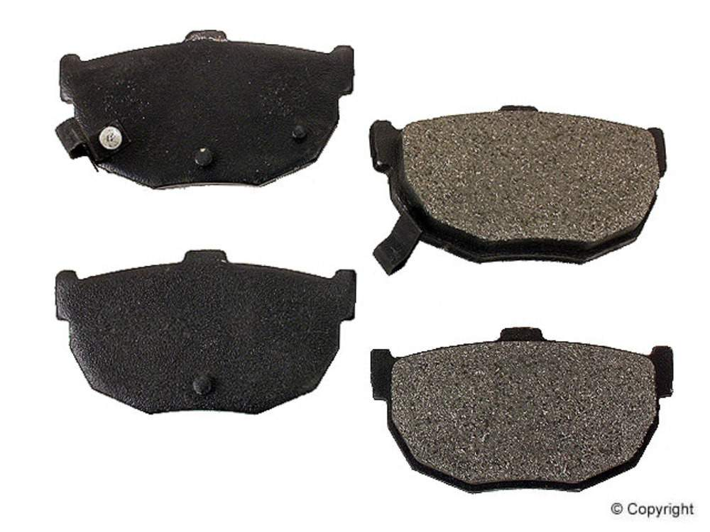 Meyle -  Semi Metallic Disc Brake Pad Set (Rear) - IMM 7146 D323 PMQ