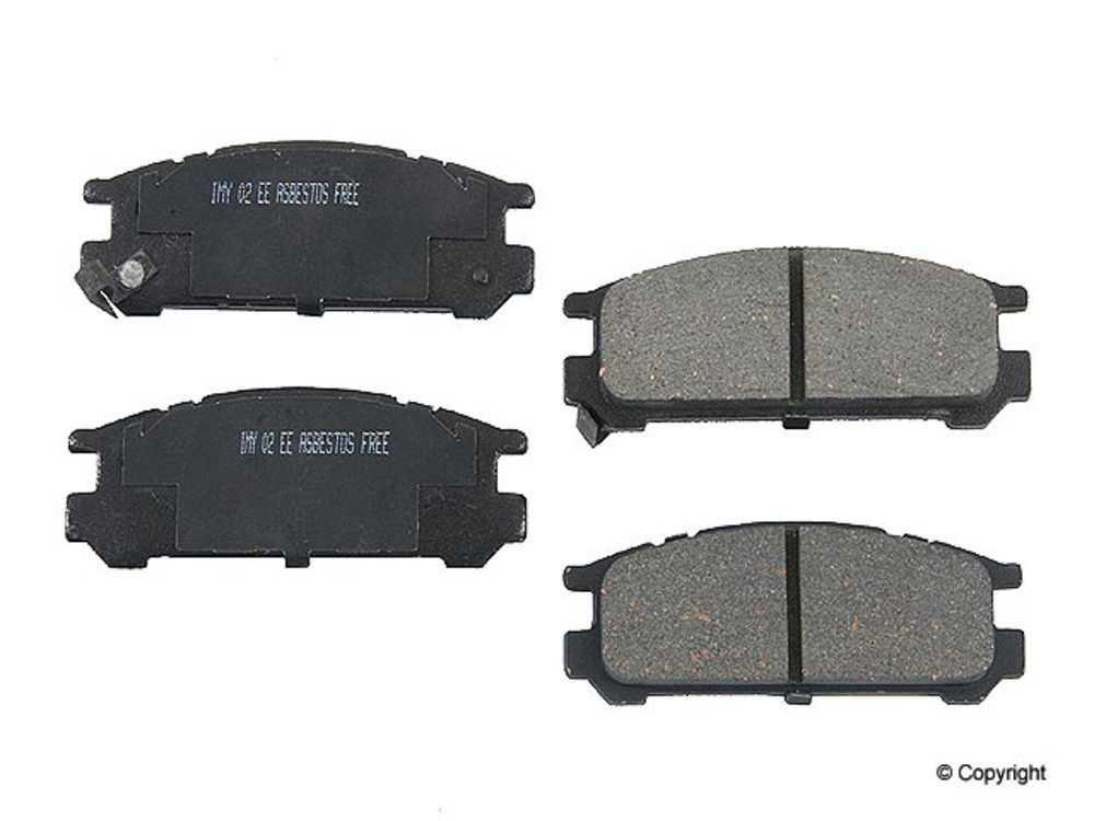 Meyle - Meyle Ceramic Disc Brake Pad Set (Rear) - IMM 7351 D471 CRM