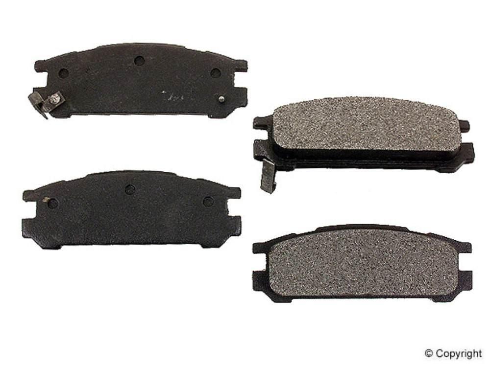Meyle - Meyle Semi Metallic Disc Brake Pad Set (Rear) - IMM 7351 D471 PMQ