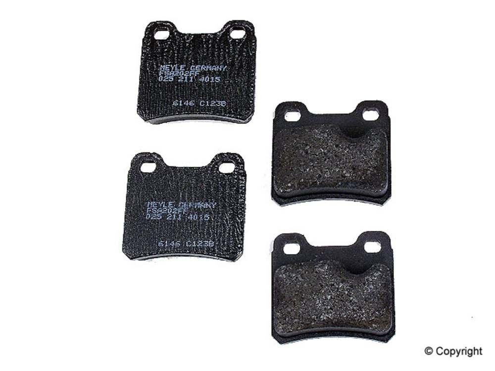 Meyle -  Semi Metallic Disc Brake Pad Set (Rear) - WDX 520 04270 503