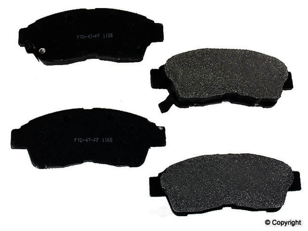 Meyle -  Semi Metallic Disc Brake Pad Set - WDX 520 05620 503