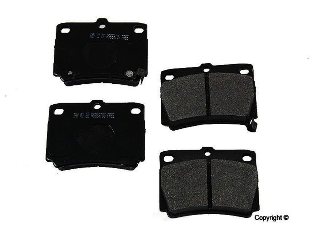Meyle -  Semi Metallic Disc Brake Pad Set - WDX 520 07330 503