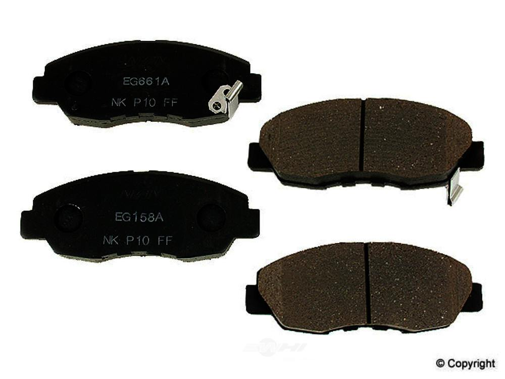 Nissin -  Disc Brake Pad Set - WDX 520 04650 064