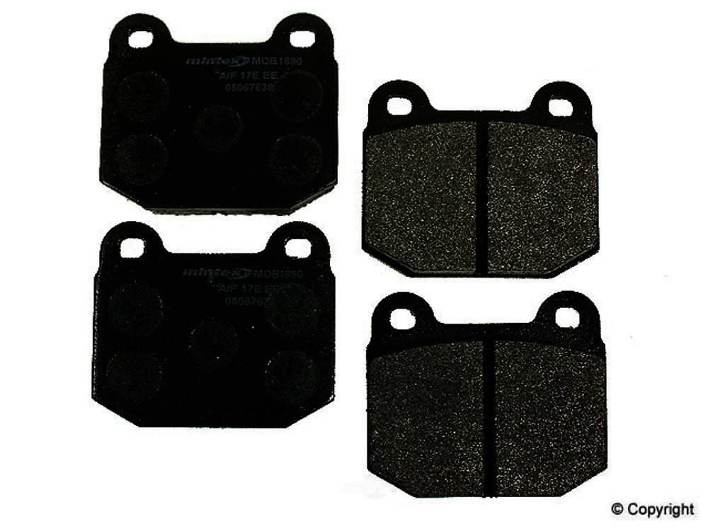 Mintex -  Disc Brake Pad Set - WDX 520 01090 325