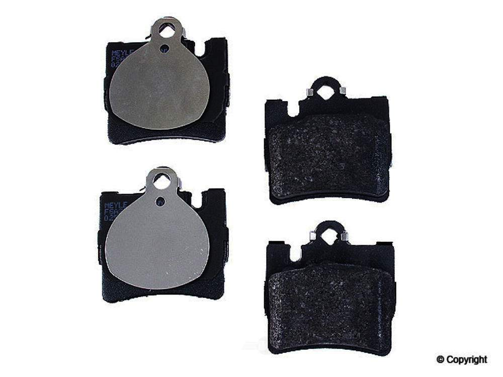 Meyle -  Semi Metallic Disc Brake Pad Set - WDX 520 08480 503