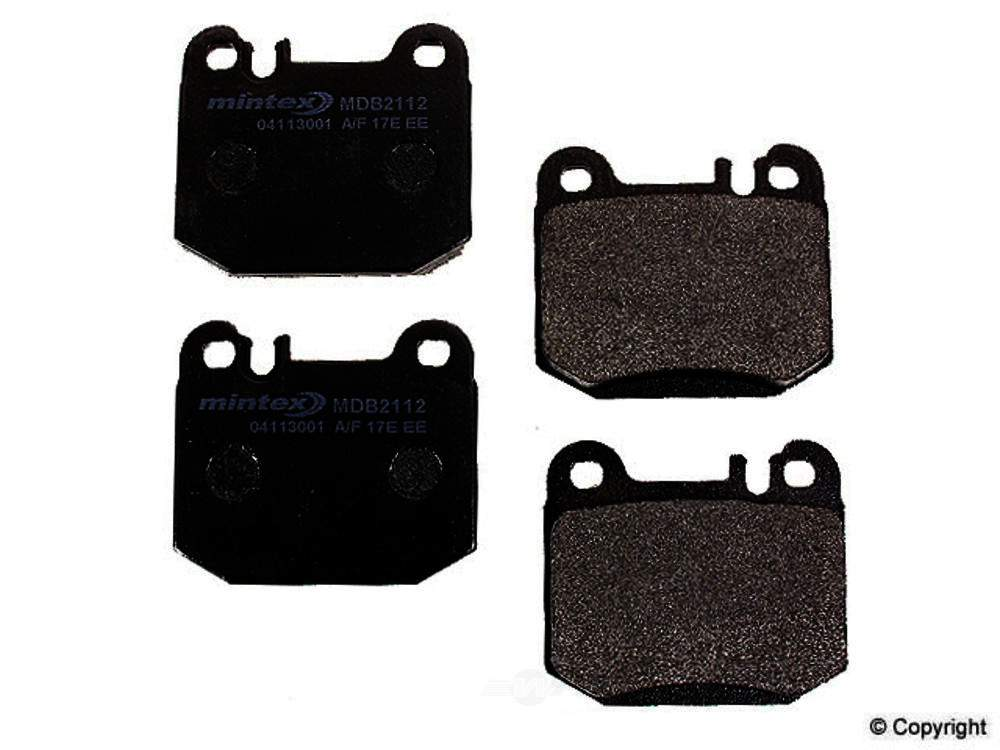Mintex -  Disc Brake Pad Set - WDX 520 08740 325
