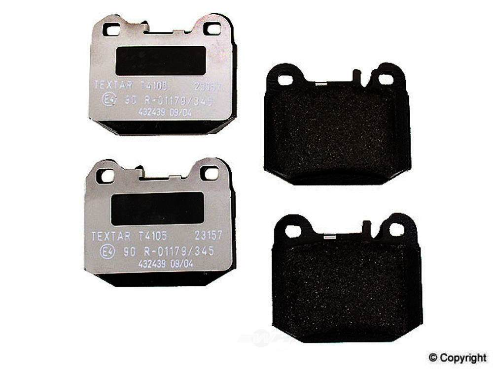 Pagid -  Disc Brake Pad Set - WDX 520 08740 345