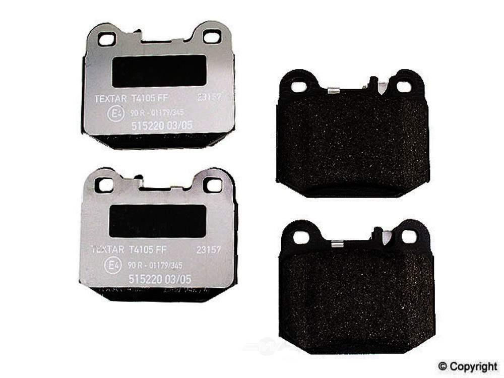Textar -  Disc Brake Pad Set - WDX 520 08740 375