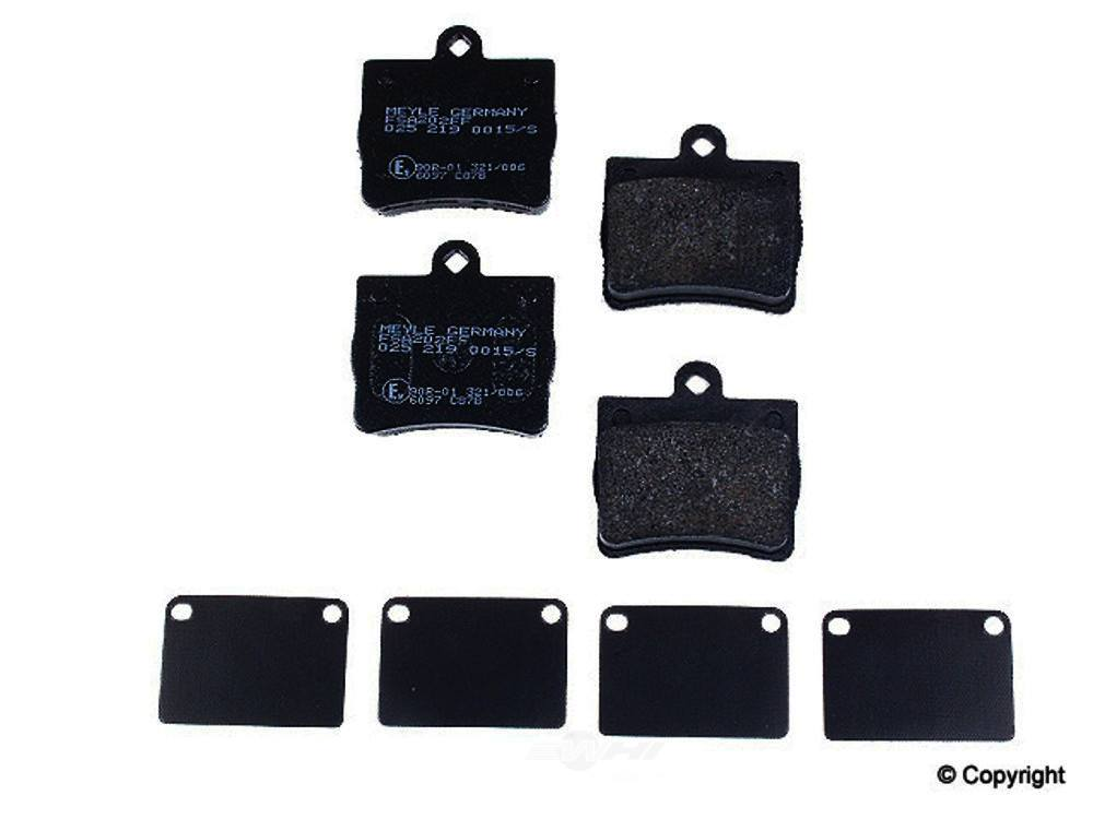 Meyle -  Semi Metallic Disc Brake Pad Set - WDX 520 07390 503