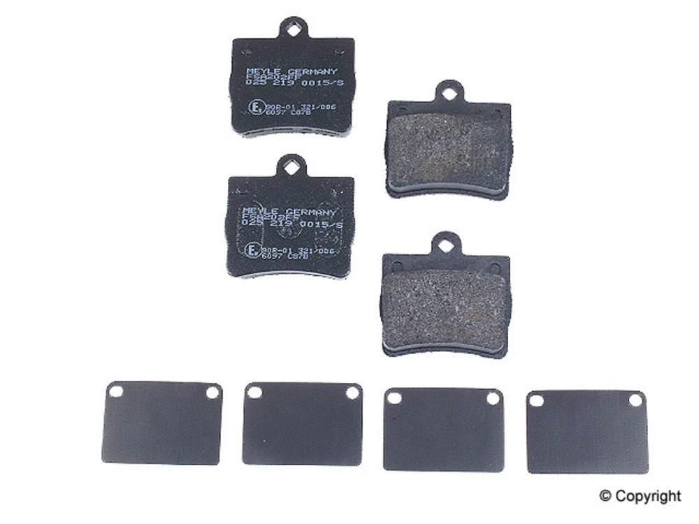 Meyle -  Semi Metallic Disc Brake Pad Set (Rear) - IMM 65 D739 PMQ