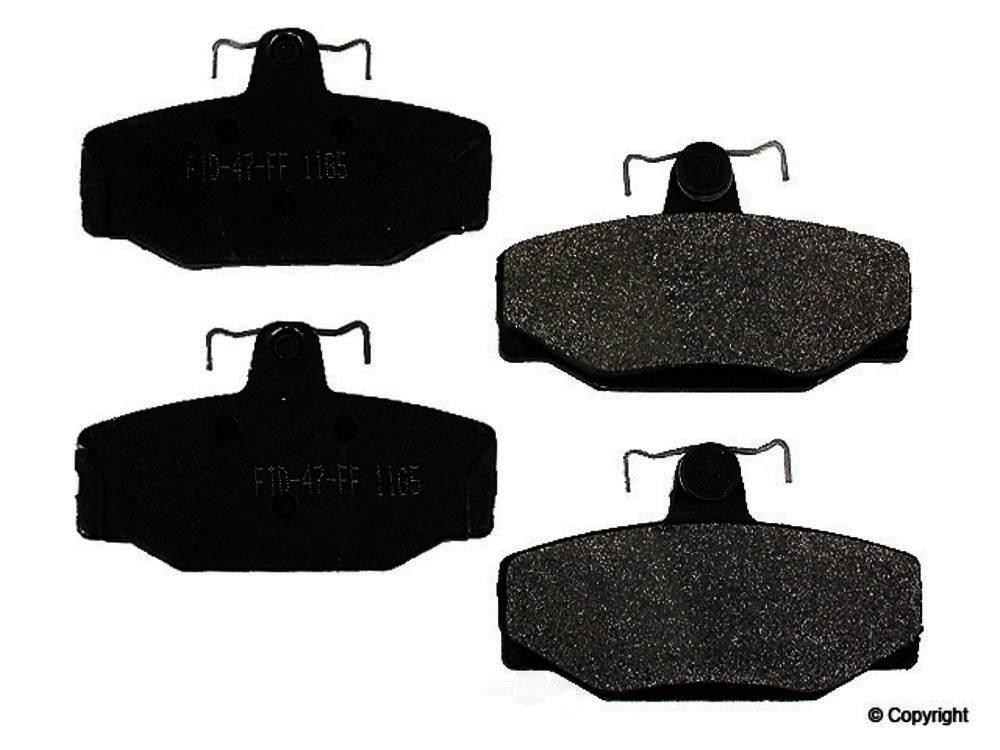 Meyle -  Semi Metallic Disc Brake Pad Set - WDX 520 03910 503