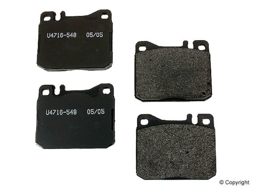 Pagid - Pagid Disc Brake Pad Set (Front) - IMM 20341 17 5