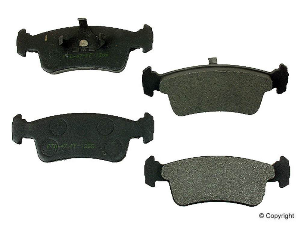 IMC MFG NUMBER CATALOG - Meyle Semi Metallic Disc Brake Pad Set (Front) - IMM 7250 D359 PMQ