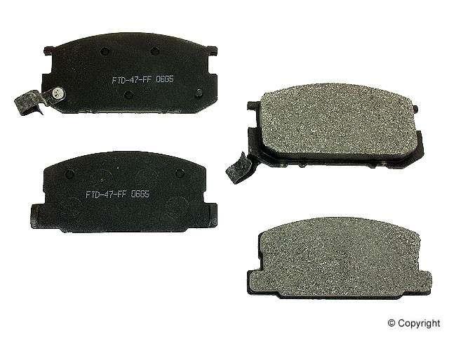 Friction Tech - Friction Tech Disc Brake Pad - WDX 520 02820 623