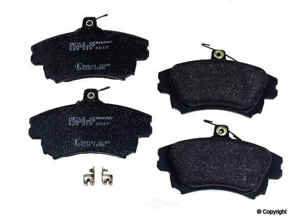 Meyle -  Semi Metallic Disc Brake Pad Set - WDX 520 08370 503