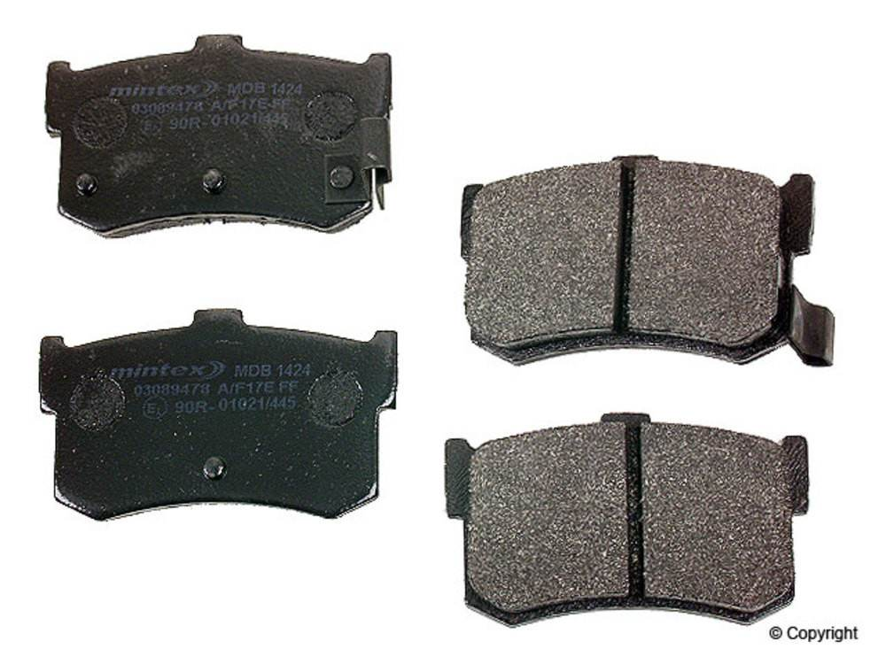 Mintex - Mintex Disc Brake Pad Set (Rear) - IMM MDB 1424