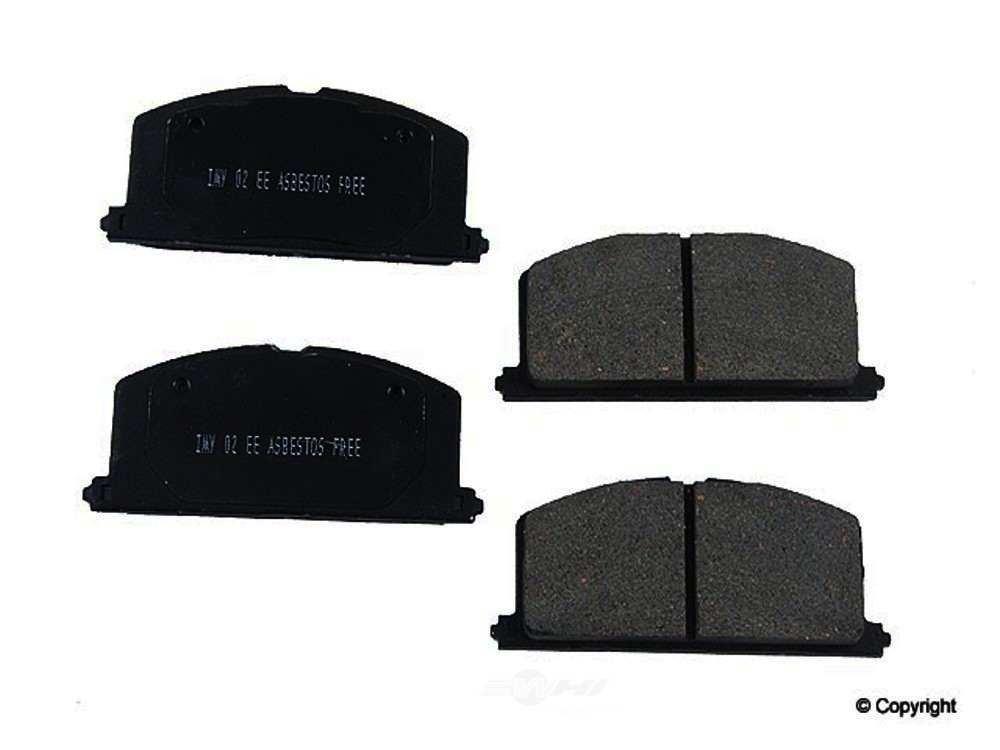 Meyle -  Ceramic Disc Brake Pad Set - WDX 520 02410 504