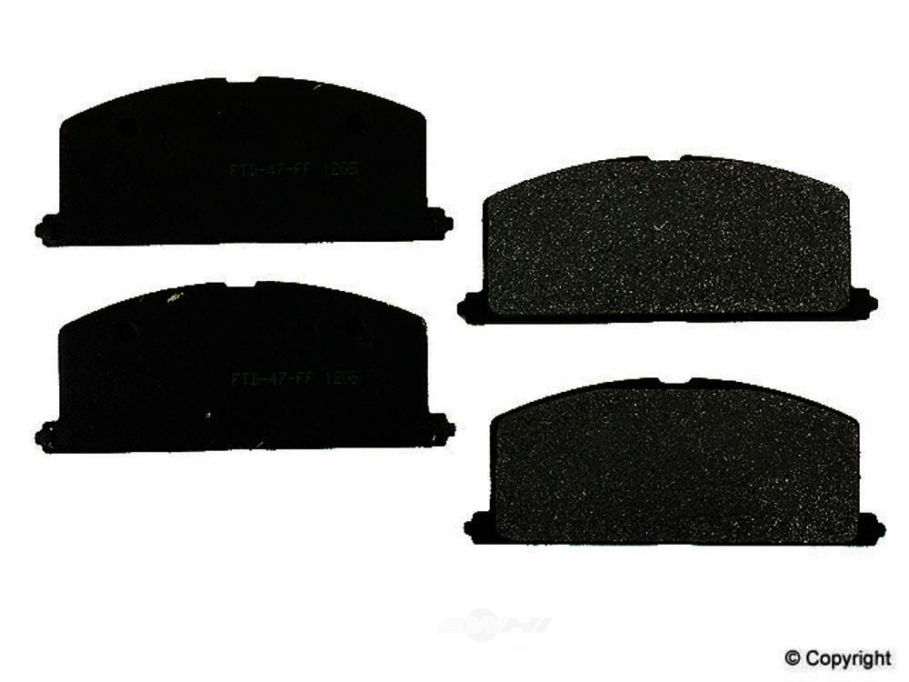 Meyle -  Semi Metallic Disc Brake Pad Set - WDX 520 02410 503