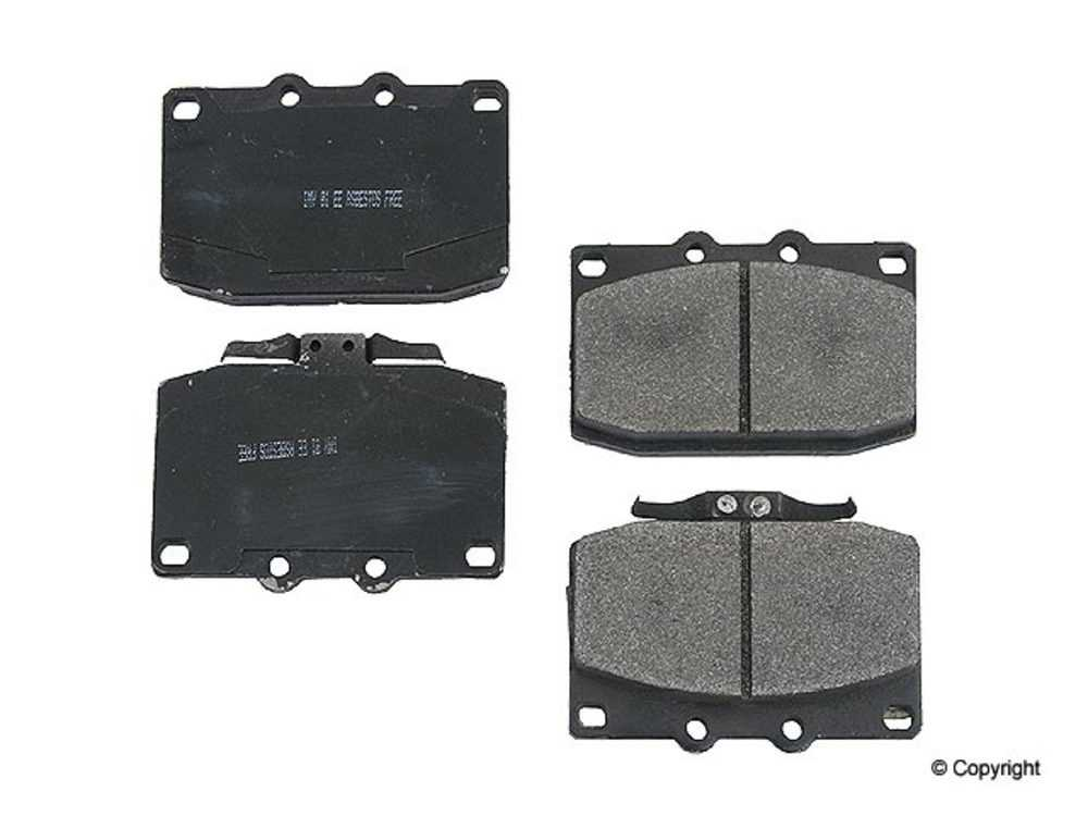 IMC MFG NUMBER CATALOG - Meyle Semi Metallic Disc Brake Pad Set (Front) - IMM 7227 D331 PMQ