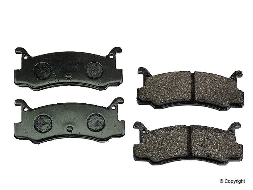 IMC MFG NUMBER CATALOG - Mintex Disc Brake Pad Set (Rear) - IMM MDB1358