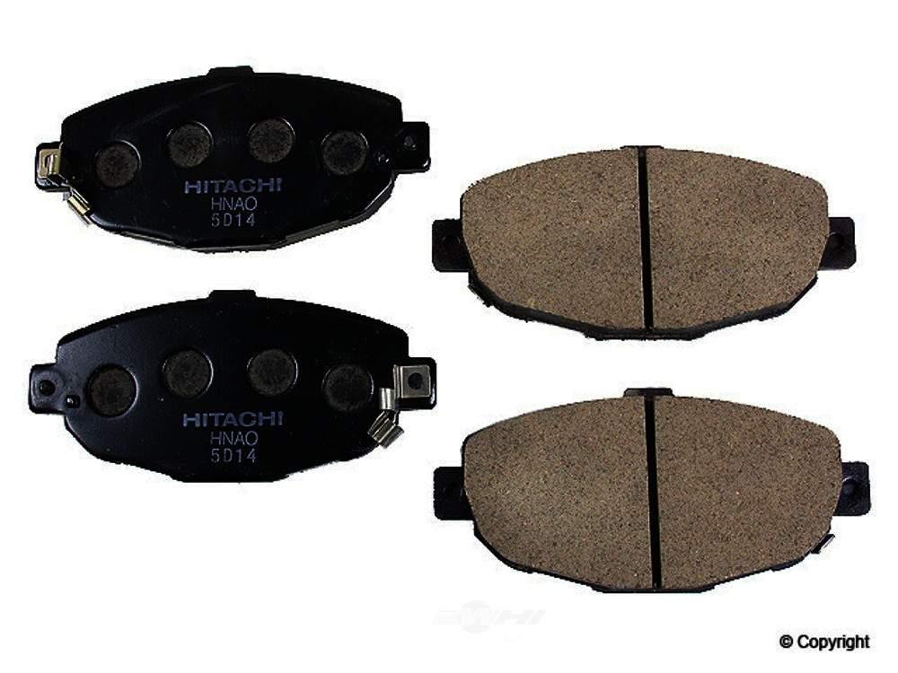 Hitachi -  Disc Brake Pad Set (Front) - WDX 520 05710 047