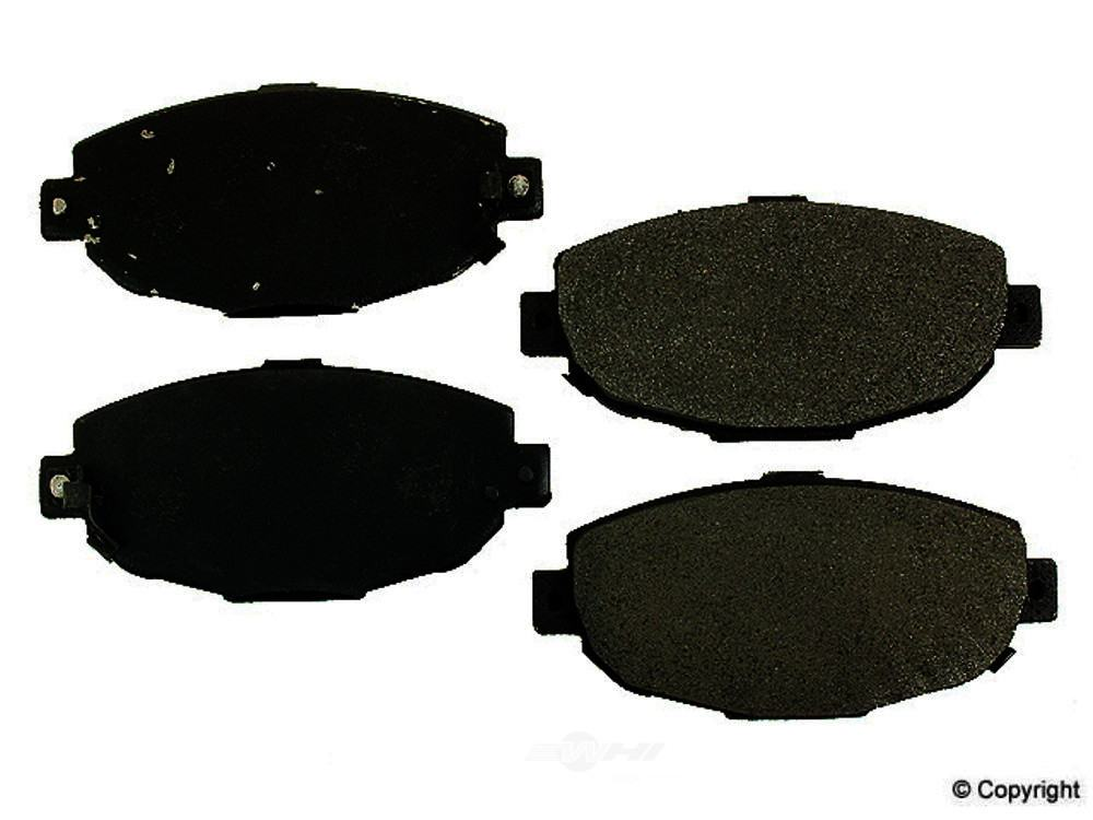 Meyle -  Semi Metallic Disc Brake Pad Set (Front) - WDX 520 05710 503