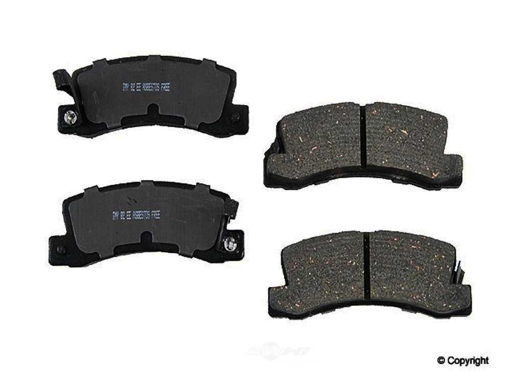 Meyle -  Ceramic Disc Brake Pad Set - WDX 520 05880 504
