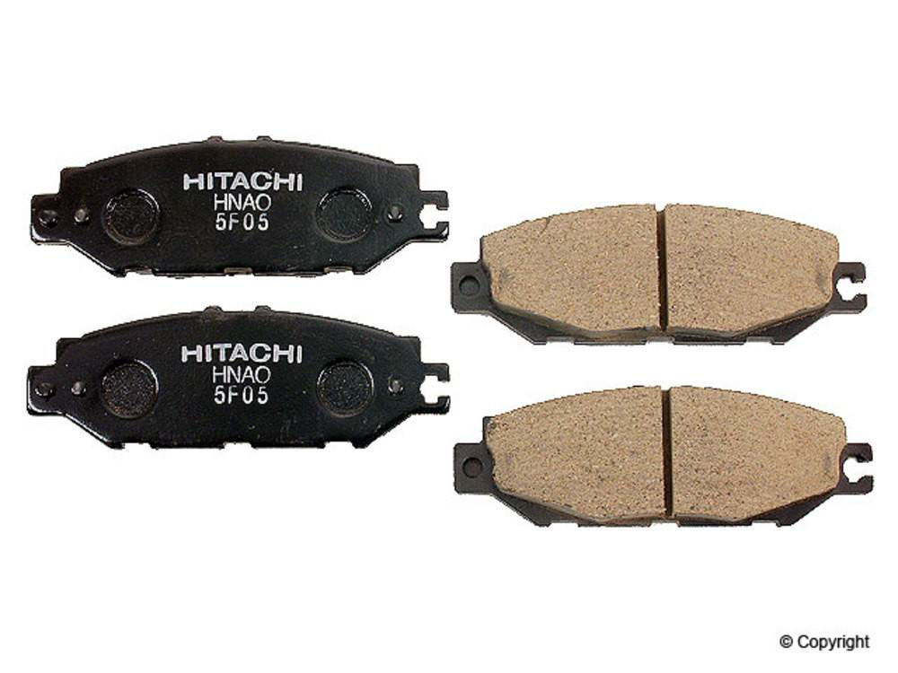 IMC MFG NUMBER CATALOG - Hitachi Disc Brake Pad Set (Rear) - IMM NDP 259