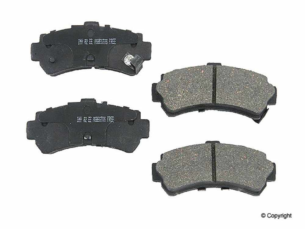 Meyle -  Ceramic Disc Brake Pad Set (Rear) - IMM 7547 D669 CRM
