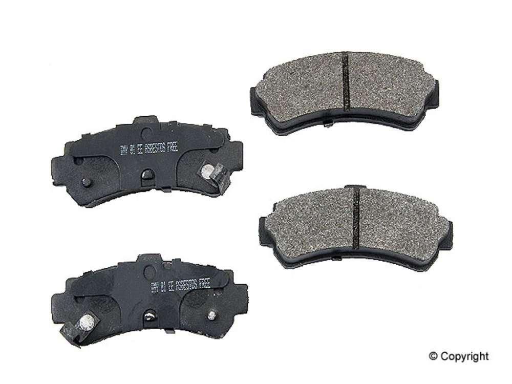 Meyle -  Semi Metallic Disc Brake Pad Set (Rear) - IMM 7547 D669 PMQ