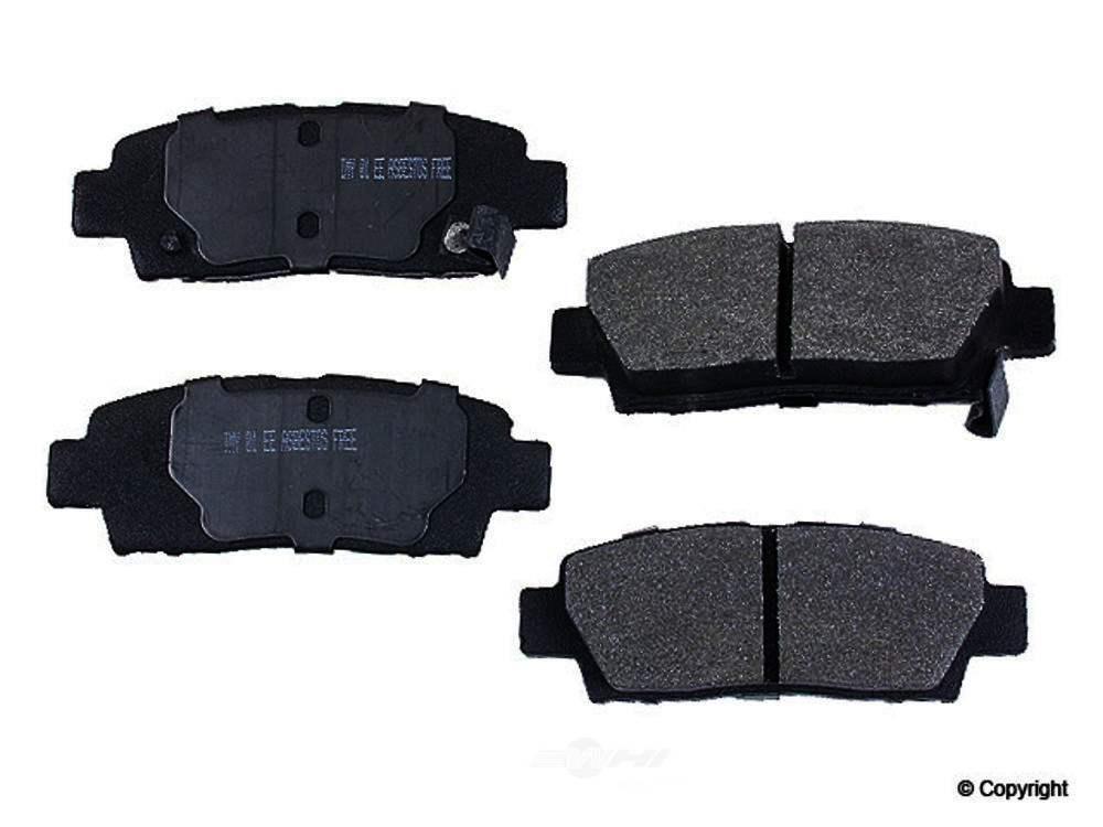 Meyle -  Semi Metallic Disc Brake Pad Set - WDX 520 06720 503