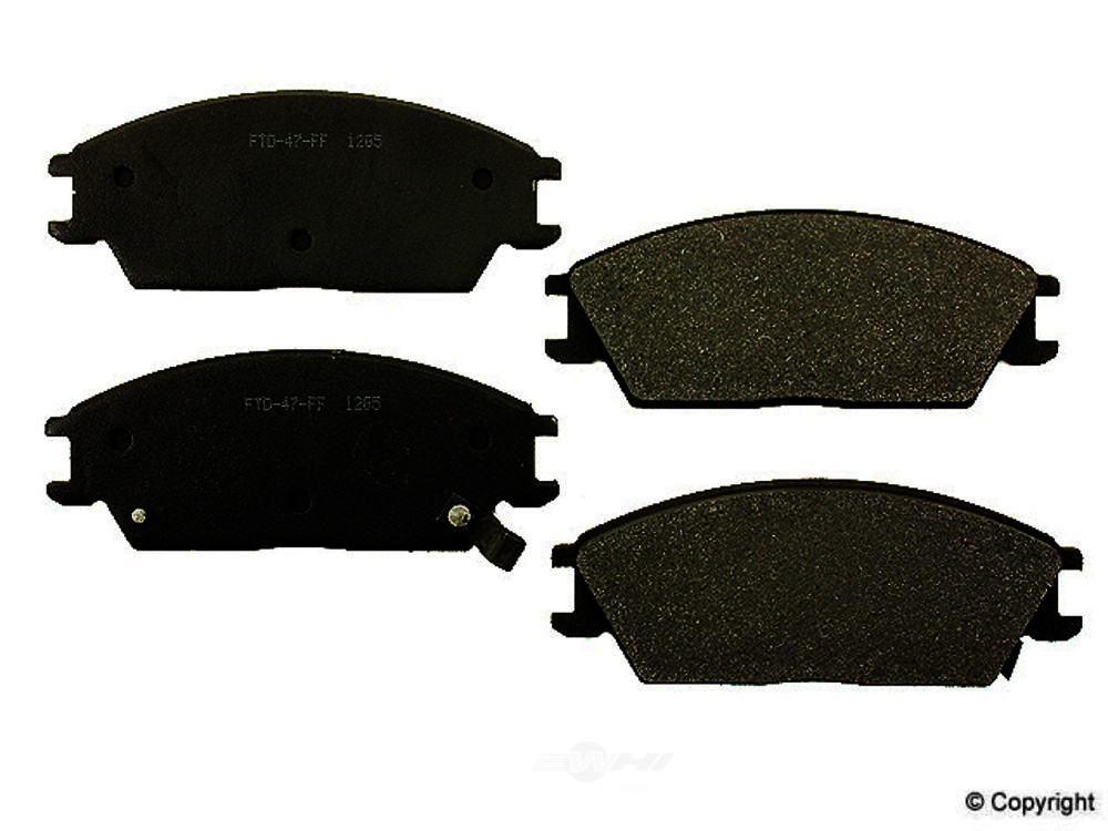 Meyle -  Semi Metallic Disc Brake Pad Set - WDX 520 04400 503