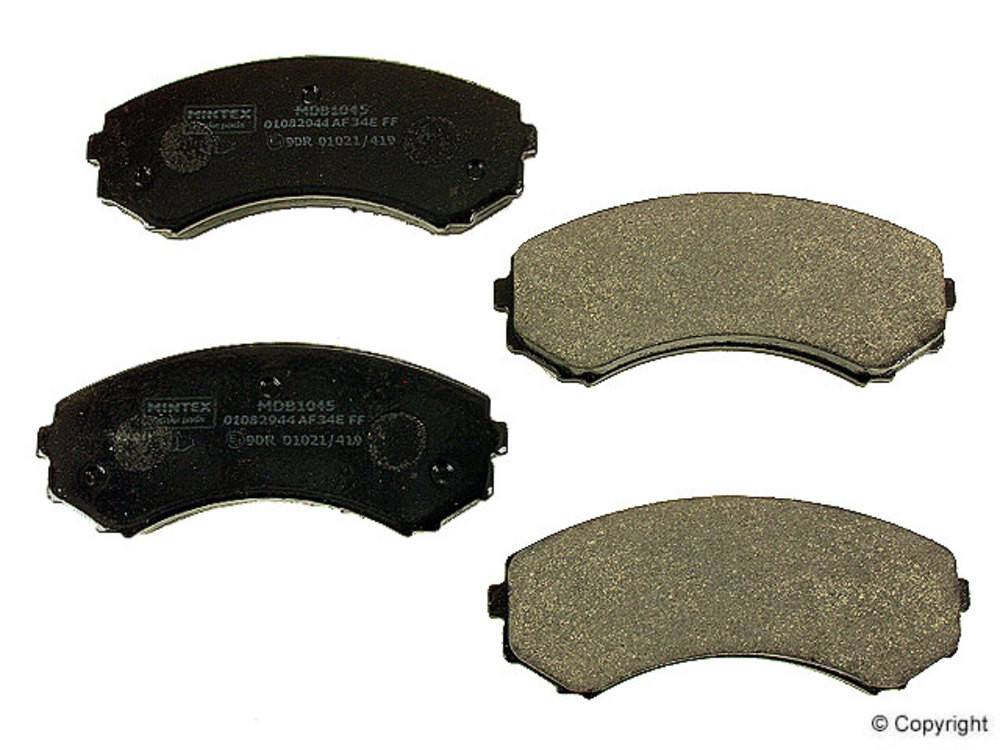 Mintex -  Disc Brake Pad Set (Front) - WDX 520 05500 325