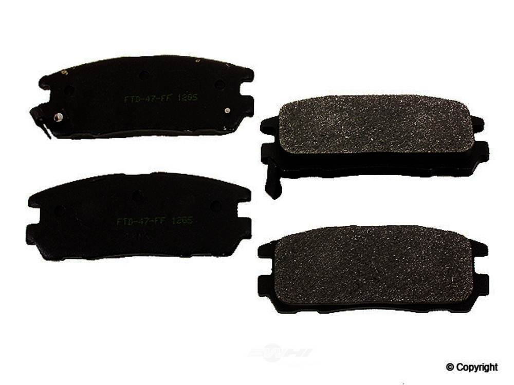 Meyle -  Semi Metallic Disc Brake Pad Set - WDX 520 05800 503