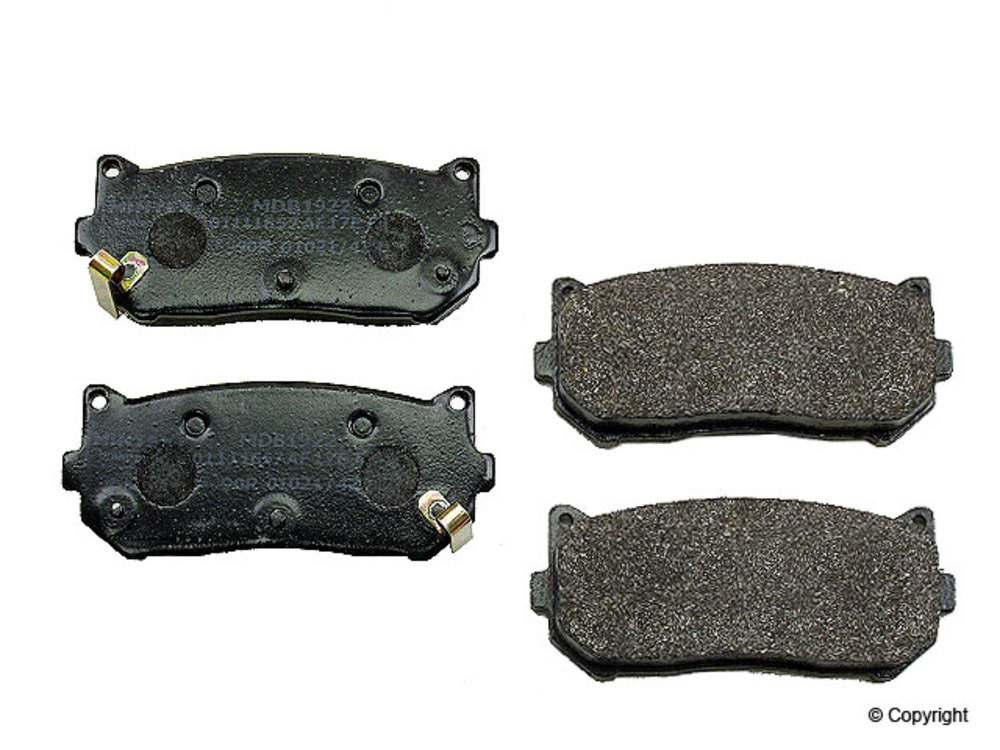 WD EXPRESS - Mintex Disc Brake Pad Set (Rear) - WDX 520 07750 325