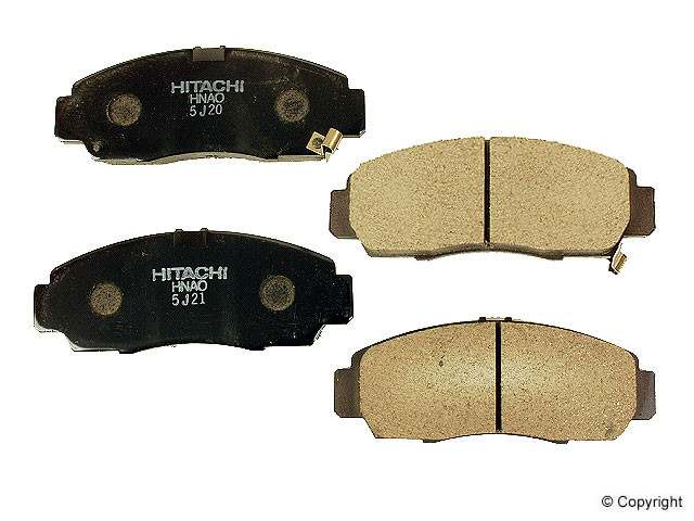 Hitachi - Hitachi Disc Brake Pad - WDX 520 07870 047