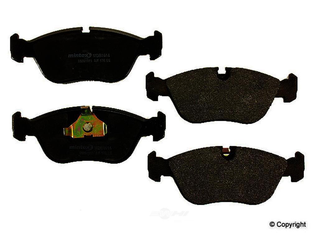 Mintex -  Disc Brake Pad Set (Front) - WDX 520 06180 325