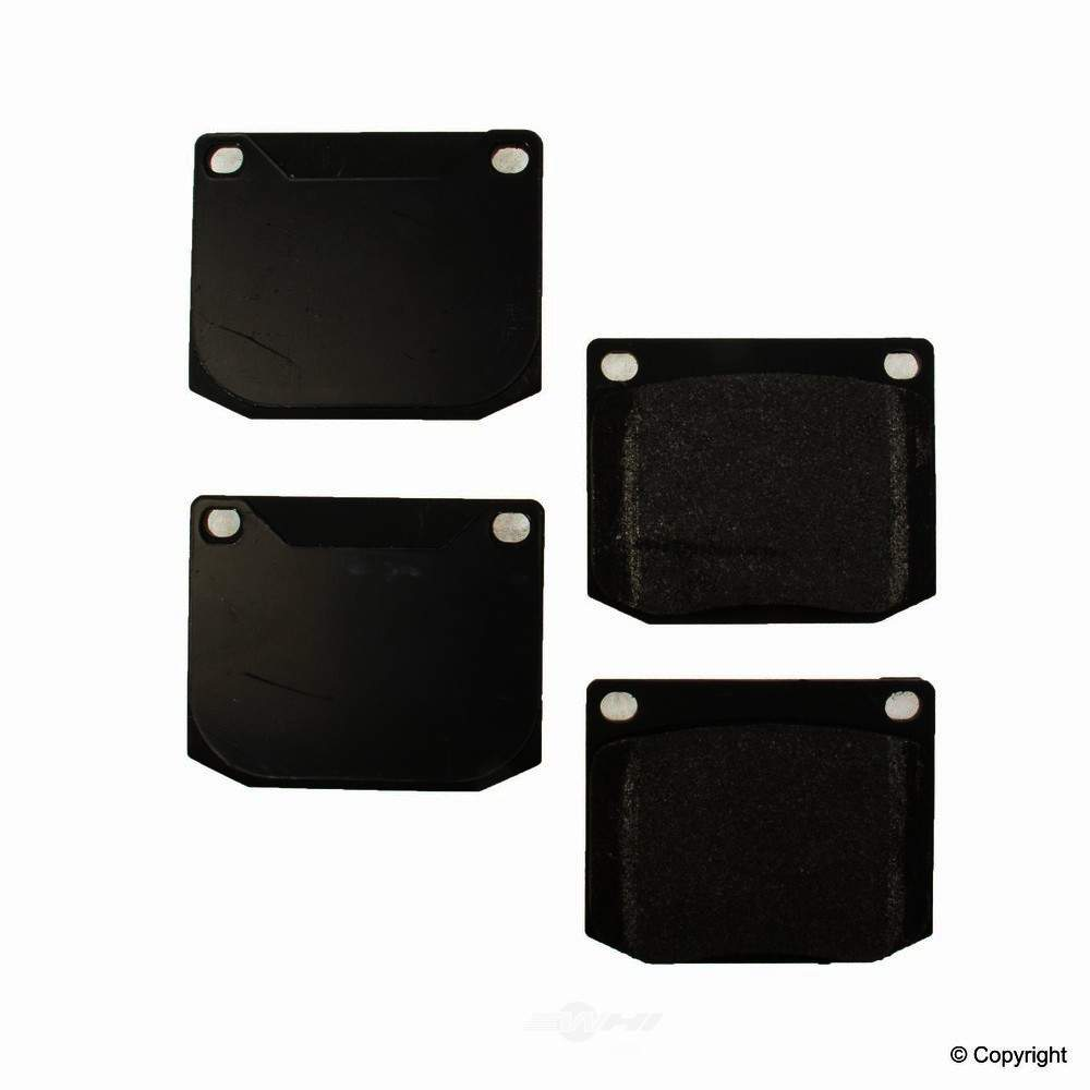 Original -  Performance Semi-Met Disc Brake Pad Set - WDX 520 00021 507