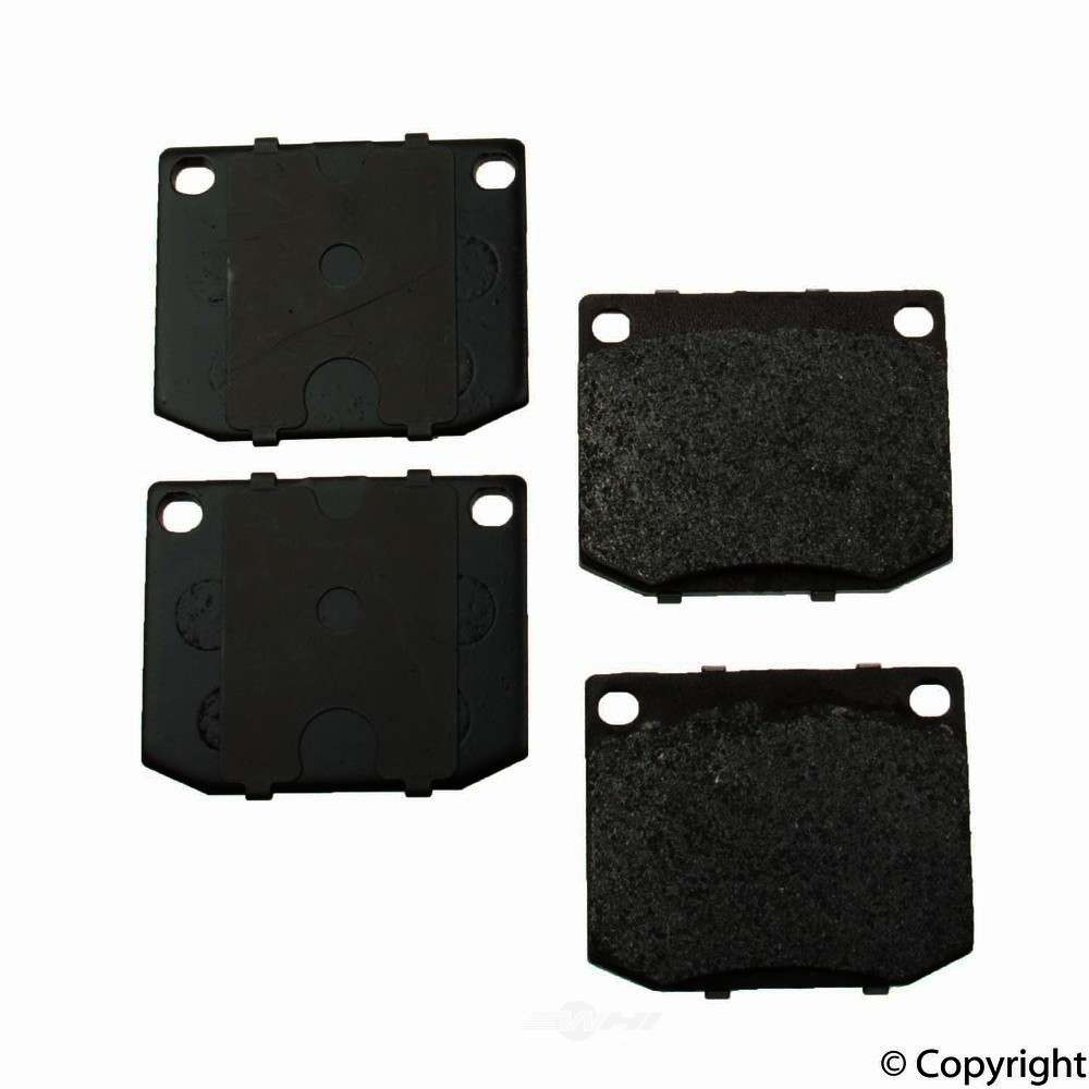 Original -  Performance Semi-Met Disc Brake Pad Set - WDX 520 00020 507